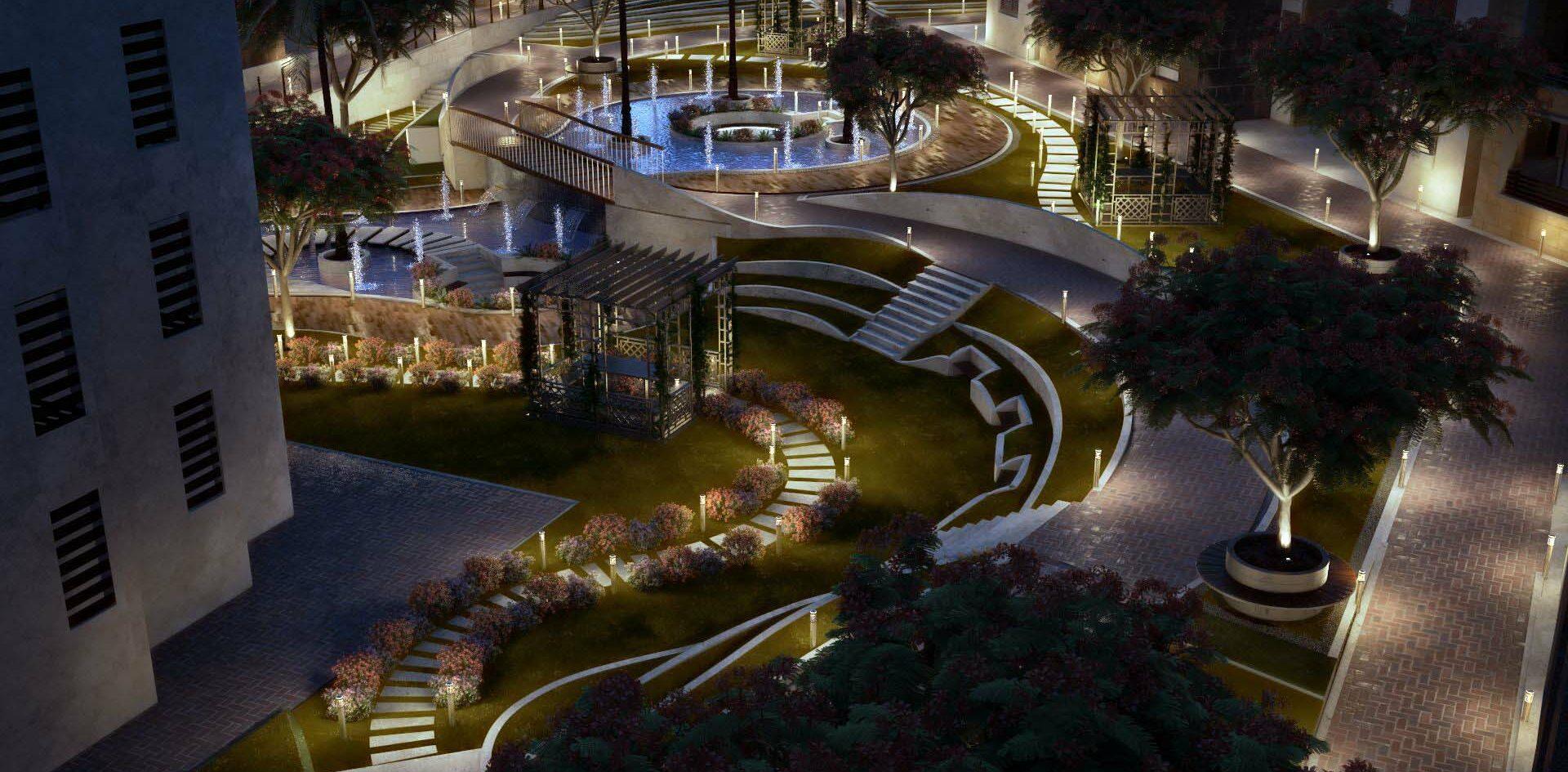 Hayati Compound Landscape Design, Egypt