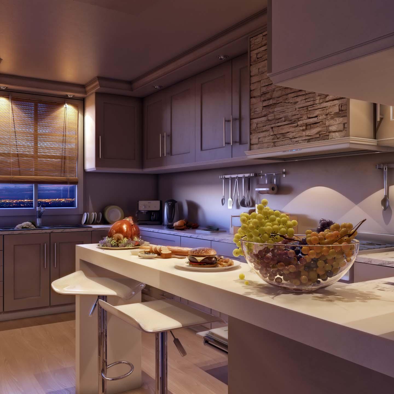 Modern Villa Kitchen Design, Saudi Arabia