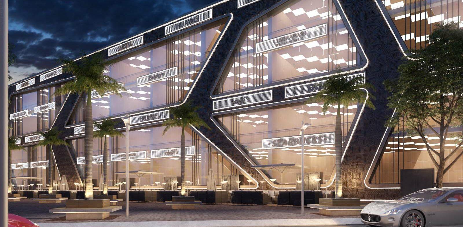 Akoya Mall Design Proposals, Egypt
