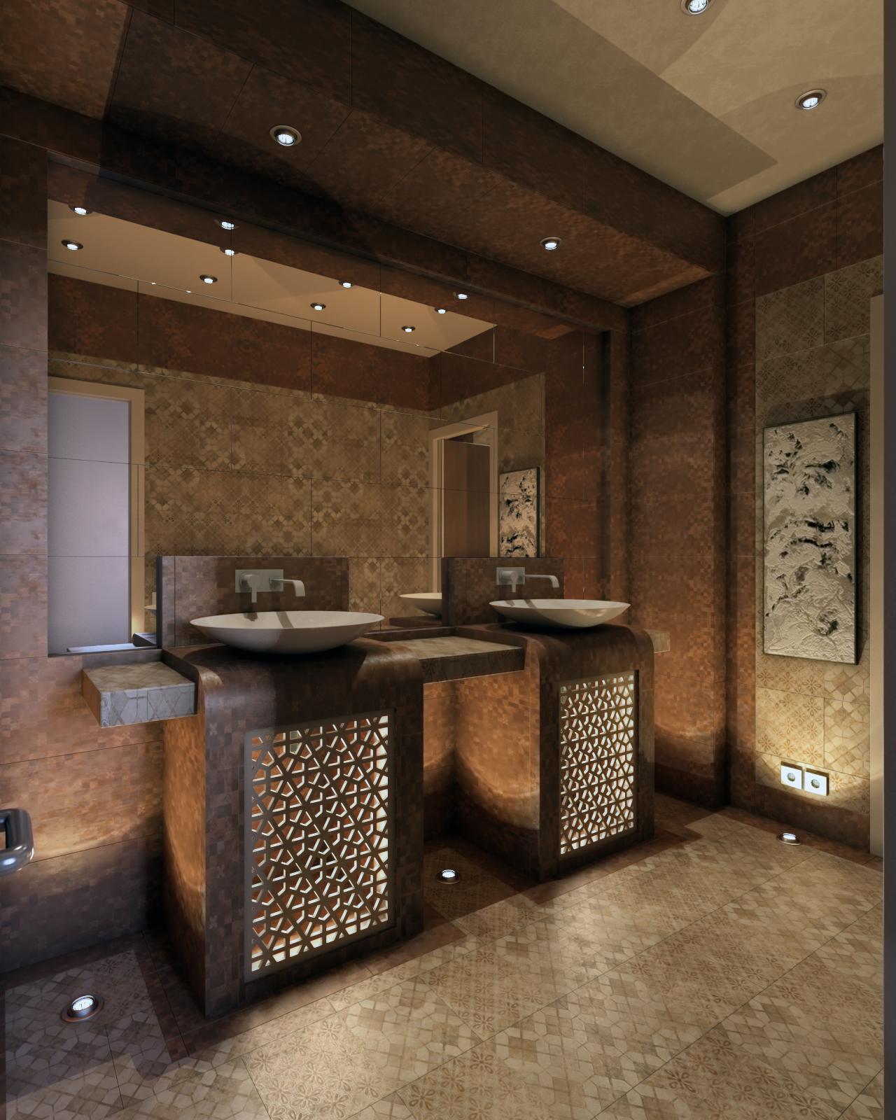 Villa Hand Wash Area, KSA