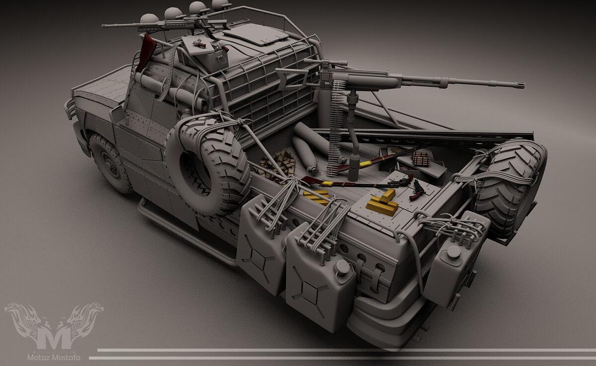 Doomsday Truck 3D Model