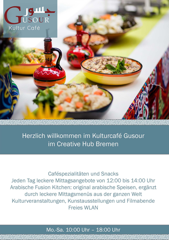 Cultural Cafe Brochure